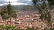Stock Video Footage of cuzco peru view