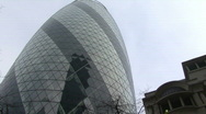 Stock Video Footage of 360º Gherkin shot London
