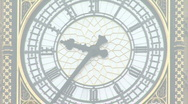 Big Ben Zoom out 2 Stock Footage