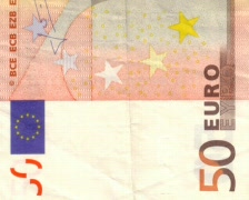 50 euro background Stock Footage