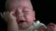 Stock Video Footage of Baby Cries
