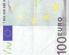 100 euro background Stock Footage