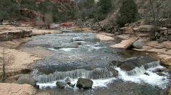 Slide Rock Park Arizona P HD Stock Footage