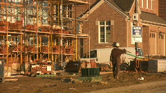 Construction worker. Stock Footage