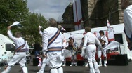 Stock Video Footage of morris dancing, handkerchiefs