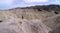 Zabriskie Point, Death Valley Stock Footage
