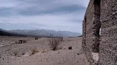 Ashford Mill, in Death Valley Stock Footage
