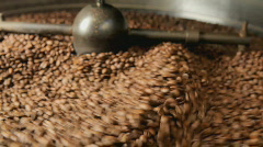 Coffee roaster selective focus Stock Footage