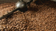 Stock Video Footage of coffee roaster selective focus