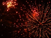 Fireworks Exploding in the Sky Stock Footage