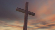 Cross on Calvary Stock Footage