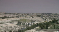 Stock Video Footage of jerusalem pan templemount 1