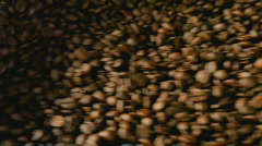 coffee roasting detail - stock footage
