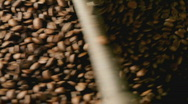 Stock Video Footage of coffee roasting detail