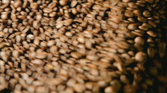 Coffee roaster close Stock Footage