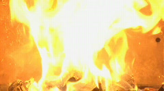 Fireplace 5 Stock Footage