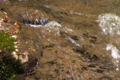 Mountain Creek Water Fall Close Up 1 Stock Footage