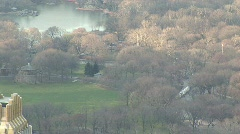 Central Park Zoom Out HD Stock Footage