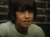 Stock Video Footage of  Teenager boy closeup vintage
