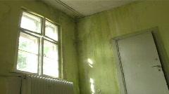 Door window peace Stock Footage