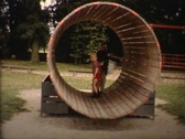 Stock Video Footage of boys on the playground vintage