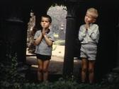 Stock Video Footage of boys praying vintage