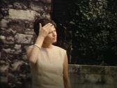 Stock Video Footage of mother with children walking in a park vintage