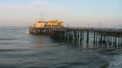 Harbor Police Office, Bay Watch Stock Footage