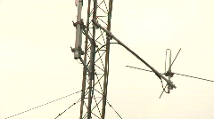 antenna shortwave Stock Footage