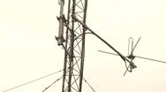 antenna shortwave Stock Footage
