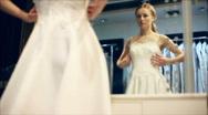 Dress choice 2 Stock Footage