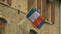 French flag Stock Footage
