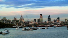 City of London - stock footage