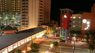 A1A Ocean Walk - Daytona Beach Stock Footage