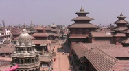 Stock Video Footage of durbar square Bhaktapur Kathmandu valley nepal pt 2