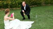 Wedding Bubbles ver1 Stock Footage