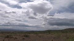 Western Landscape/Cloudscape Stock Footage