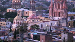 City church Mexico Stock Footage