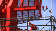 Airport Radar Tower, Close Stock Footage