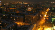 Evening city 1 Stock Footage