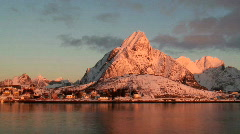 Lofoten Islands Norway Stock Footage