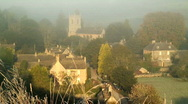 Naunton Village Stock Footage