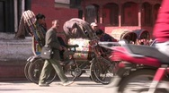 Stock Video Footage of Durbar Square In Kathmandu Nepal