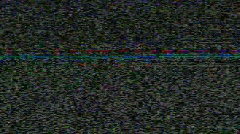 Digital Video Static Stock Footage
