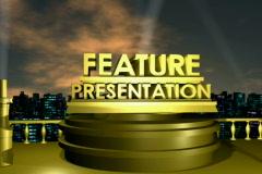 Feature Presentation NTSC - stock footage