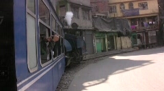 Darjeeling Toy Train Stock Footage