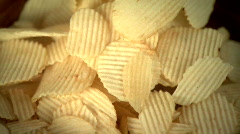 Potato Chips Stock Footage