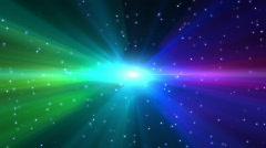 Stock Video Footage of Pride - Rainbow Aurora
