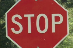 Stop Sign Series Stock Footage