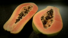 Papaya Stock Footage